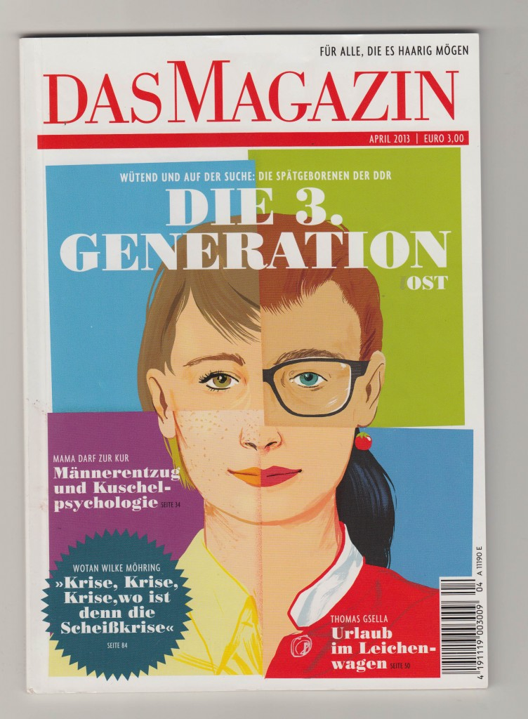 Das Magazin April 2013