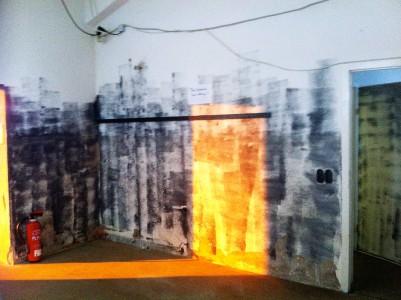 Tür zum Hauptraum Foto: Hanne Lauch