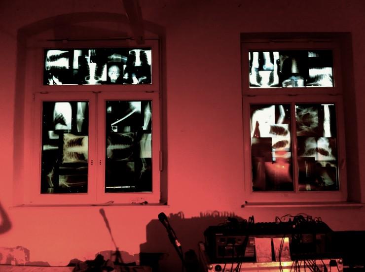Röntgenbilder im Hauptraum, Foto: Hanne Lauch